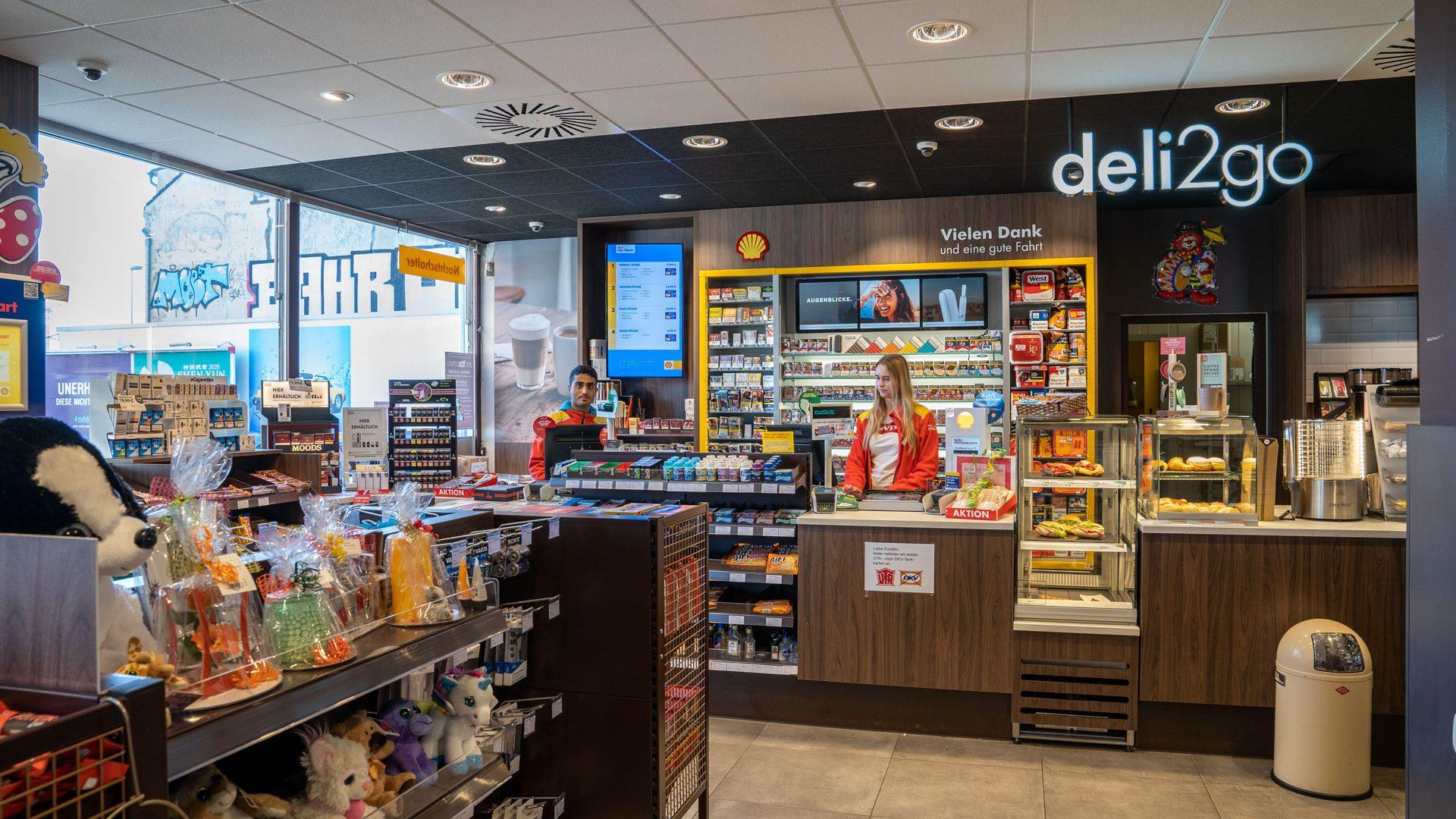 KassiererIn, Shell-Station-Bedburg, Neusser-Str-55
