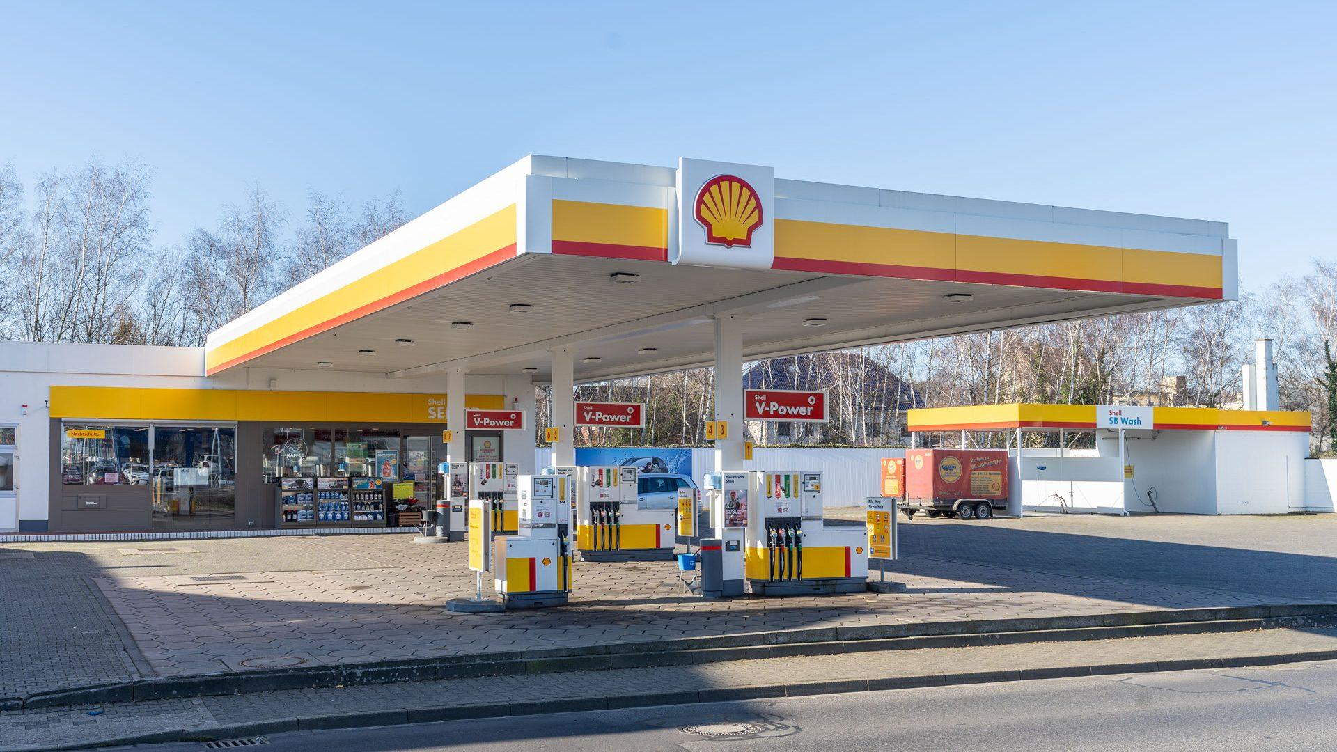 Shell Tankstelle Bedburg, Bahnstr. 27