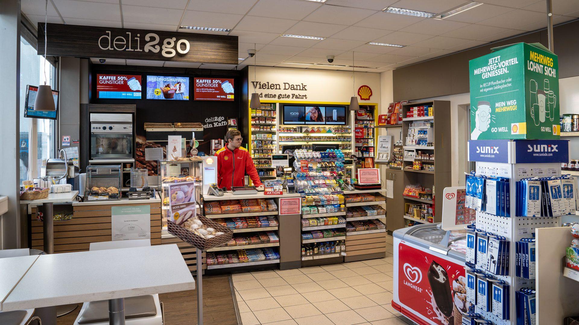 KassiererIn, Shell-Station Köln, Bonner Str. 98