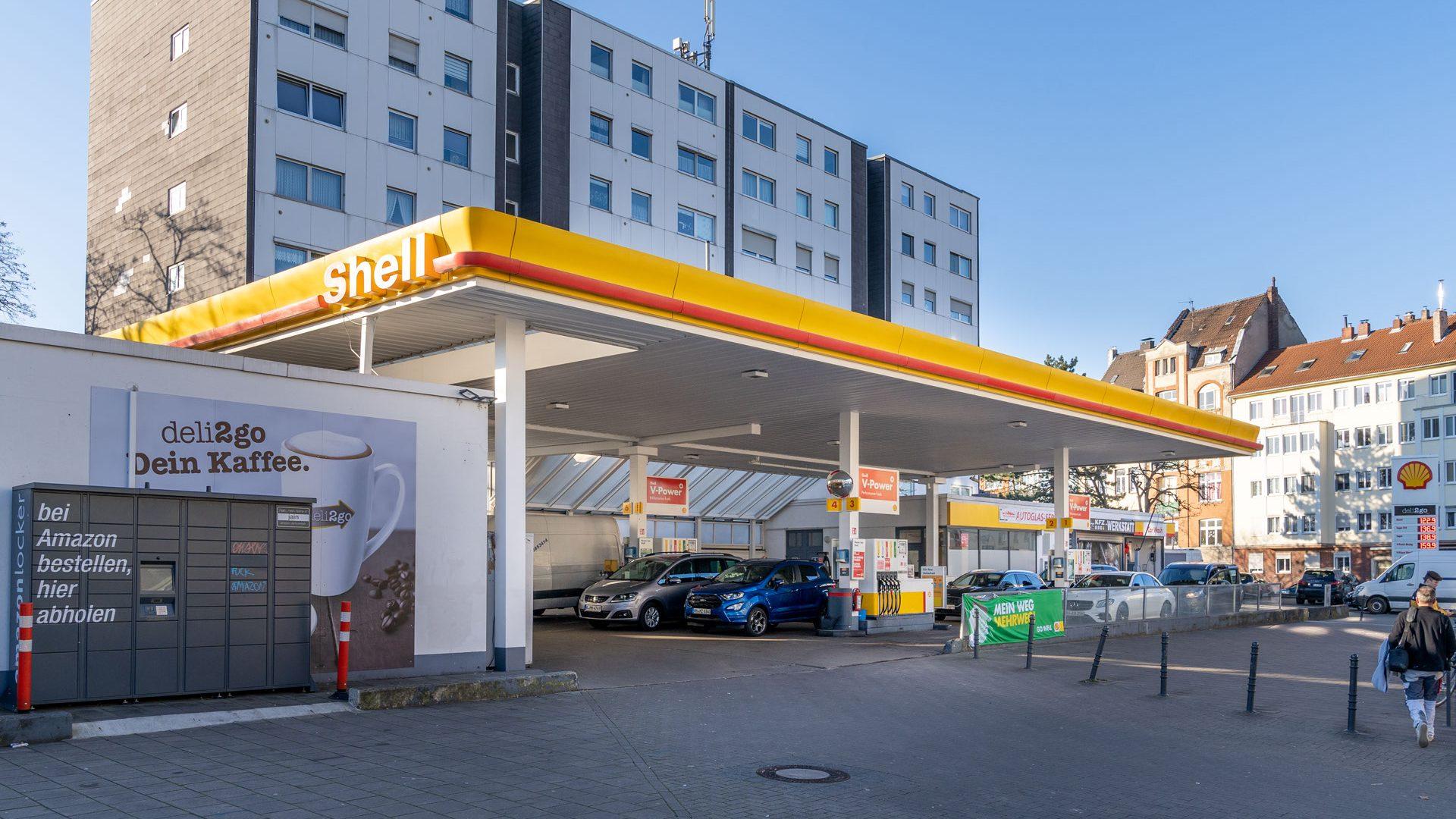 Shell Tankstelle Köln, Bonner Str. 98