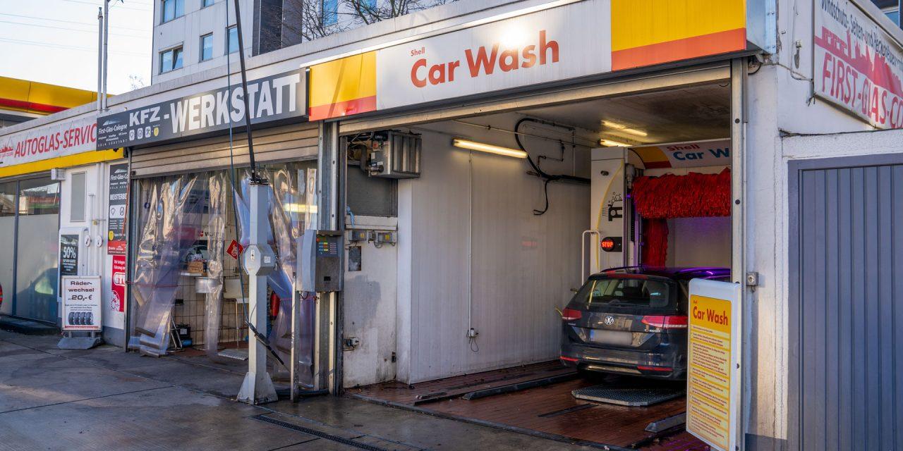 Shell Tankstelle Köln