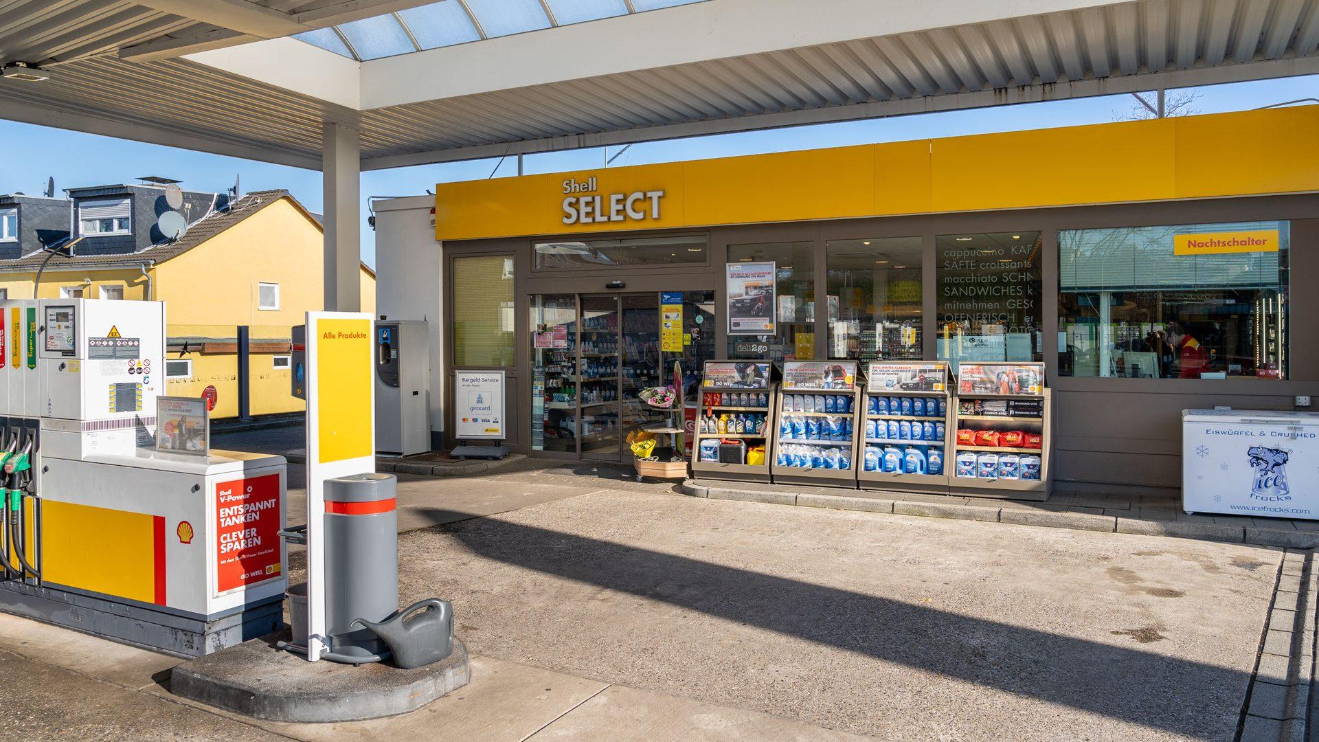 Shell Tankstelle Köln, Escher Str. 170