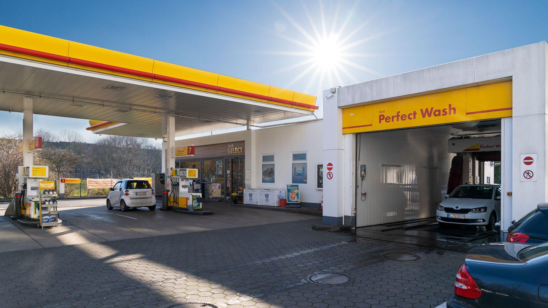 Shell Tankstelle Köln, Neusser Str. 153