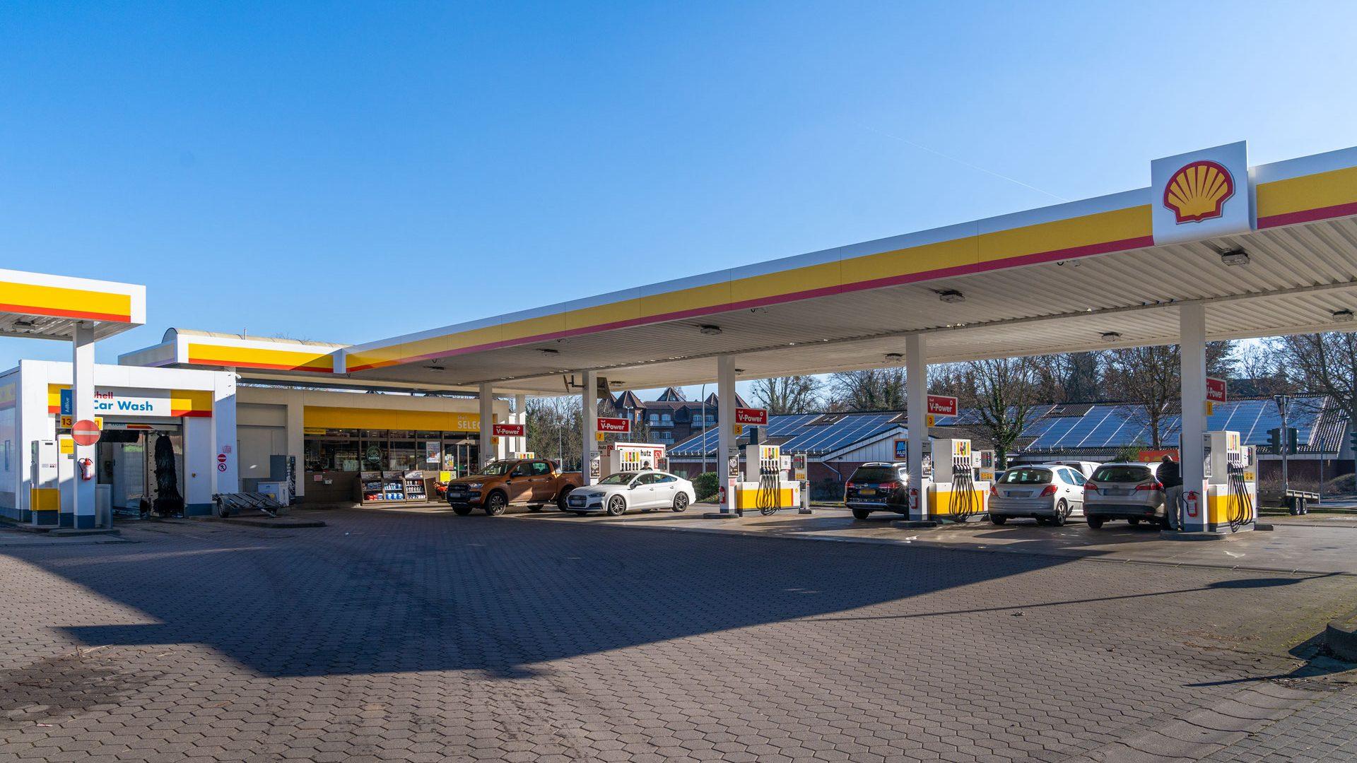 Shell Tankstelle Köln, Deutz-Kalker Str. 103