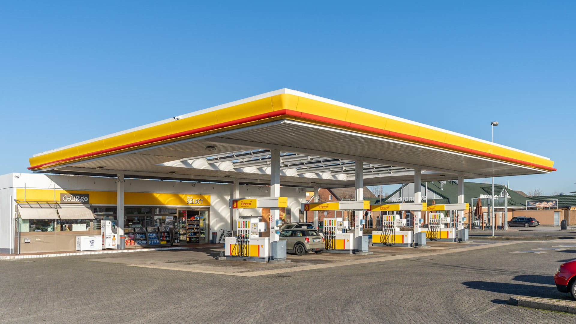 Shell Tankstelle Bergheim, Zum Biotop 19