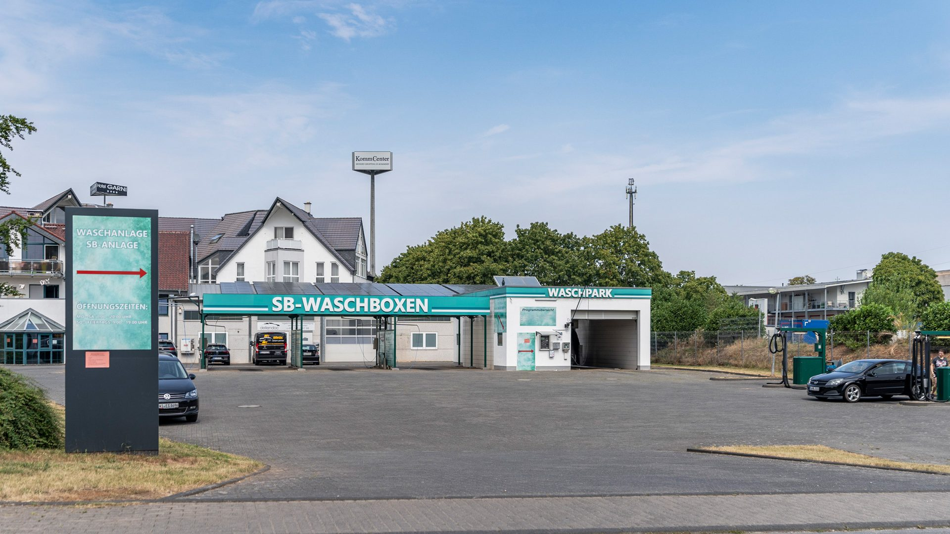 Waschpark Kommern, Levanoweg 1