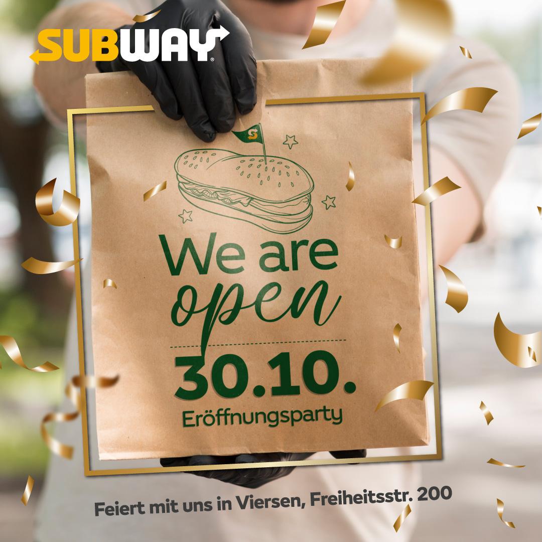 Opening Subway Viersen